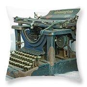Remington 11 Throw Pillow