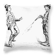 Remington: Cowboy, 1888 Throw Pillow