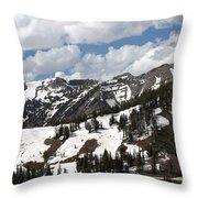 Rendezvous Mountain 2 Throw Pillow