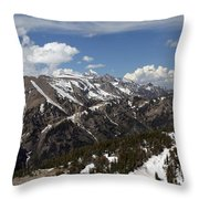 Rendezvous Mountain Throw Pillow