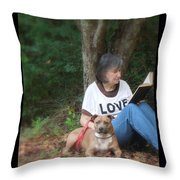 Renee Trenholm Throw Pillow