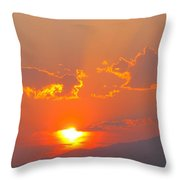 Reno At Sunset Throw Pillow