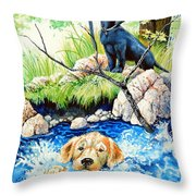 Rescue Me Throw Pillow