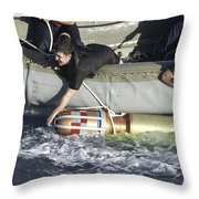 Rescue Swimmers Pull A 480-pound Throw Pillow