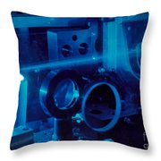 Research Into The Combustion Of Fuels Throw Pillow