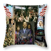 Respectfully Yours..... Mr. President 2 Throw Pillow