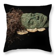 Rest Throw Pillow by Adam Long