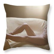 Rest In The Light Throw Pillow