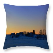 Rest Throw Pillow by Natalie LaRocque