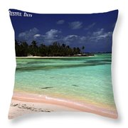 Restful Days Throw Pillow
