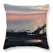 Restful Waters Throw Pillow
