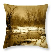 Resting Up Throw Pillow