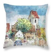 Reute In Germany 01 Throw Pillow