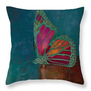 Reve De Papillon - S04bt02 Throw Pillow