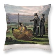 Reverend Samuel Marsden Throw Pillow