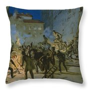 Revolution In Florence Throw Pillow