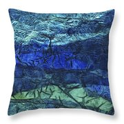 Rhapsody Of Colors 48 Throw Pillow