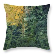 Rhapsody Of Colors 58 Throw Pillow