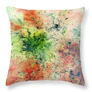 Rhapsody Of Stars In A Major Throw Pillow