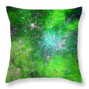Rhapsody Of Stars In C Major  Throw Pillow