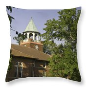 Rhea County Courthouse 3 Throw Pillow