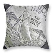 Rhode Island 2001 Throw Pillow