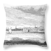 Rhode Island: Newport Throw Pillow