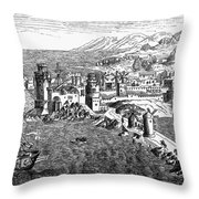 Rhodes, 1488 Throw Pillow
