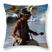 Rhythm Of The Ocean Throw Pillow