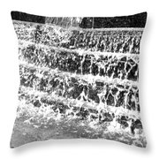 Rhythm Of The Rain Throw Pillow