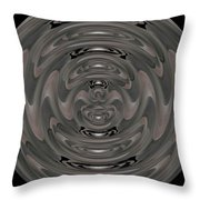 Ribbon In Time Throw Pillow