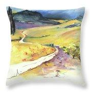 Ribera Del Duero In Spain 06 Throw Pillow