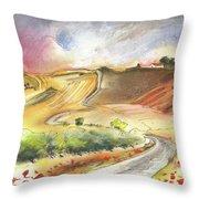 Ribera Del Duero In Spain 11 Throw Pillow