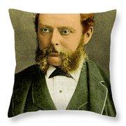 Richard A. Proctor, English Astronomer Throw Pillow