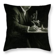 Richard C. Cabot, American Physician Throw Pillow by Science Source