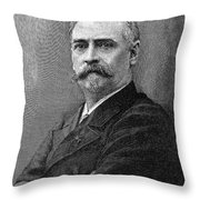 Richard Morris Hunt Throw Pillow