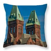 Richardson Building 3421 Throw Pillow