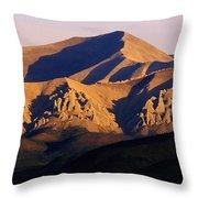 Richardson Mountains, Dempster Highway Throw Pillow