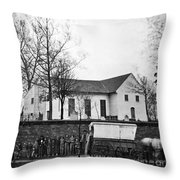 Richmond: Church, 1865 Throw Pillow