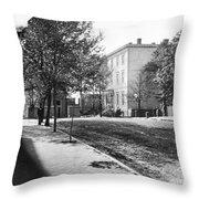 Richmond: Davis Home, 1865 Throw Pillow