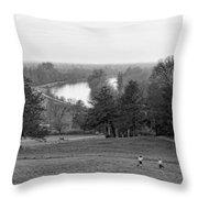 Richmond Hill  Throw Pillow by Jasna Buncic