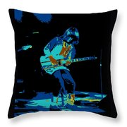 Cosmic Derringer In Spokane 1977 Throw Pillow