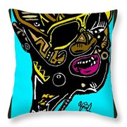 Rick Ross Full Color Throw Pillow