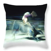Ride Him Cowboy Throw Pillow