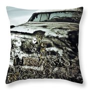 Ride Of Abandonment  Throw Pillow
