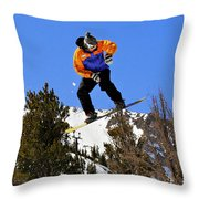 Ride Utah Throw Pillow by Christine Till