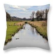 Ridgefield Reserve Landscape Throw Pillow