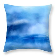 Riding Out The Storm Throw Pillow