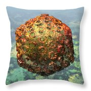 Rift Valley Fever Virus 1 Throw Pillow by Russell Kightley