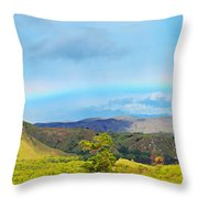 Rinca Panorama Throw Pillow